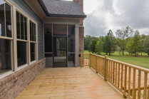 Circle H Builders Porch Deck