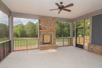 Circle H Builders Columbia SC Screened Porch