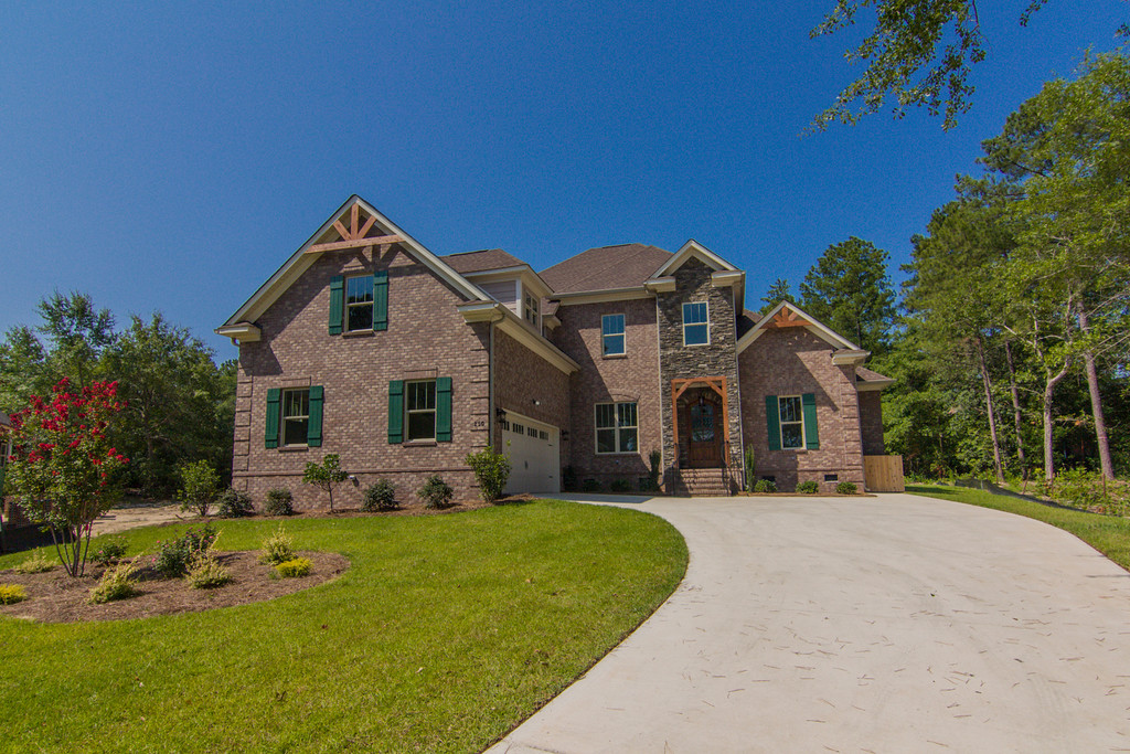 Circle H Custome Home Builders' 2-story home at 250 High Pointe Drive in Cobblestone Park in Blythewood.