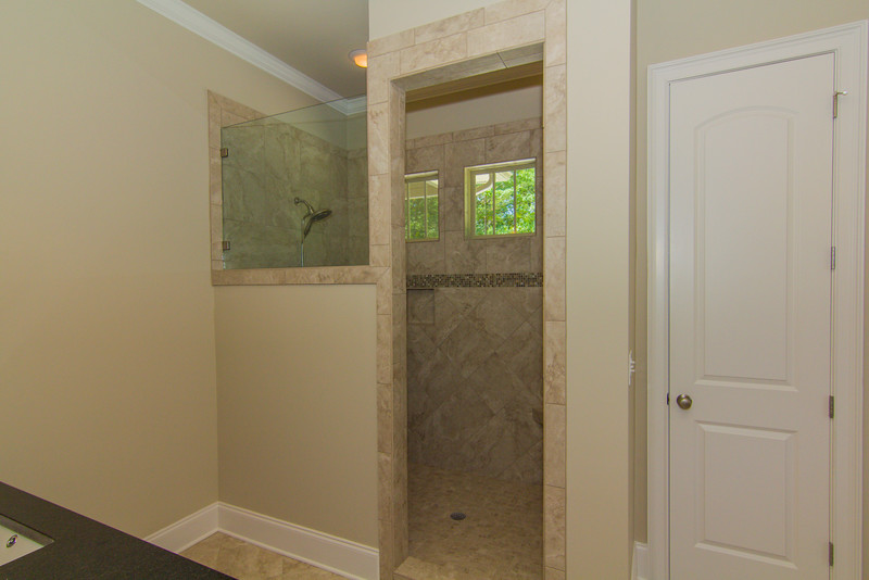 Circle H Builders Columbia SC Tiled Shower