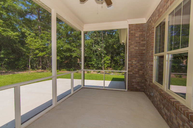 Circle H Builders Columbia SC screened porch.